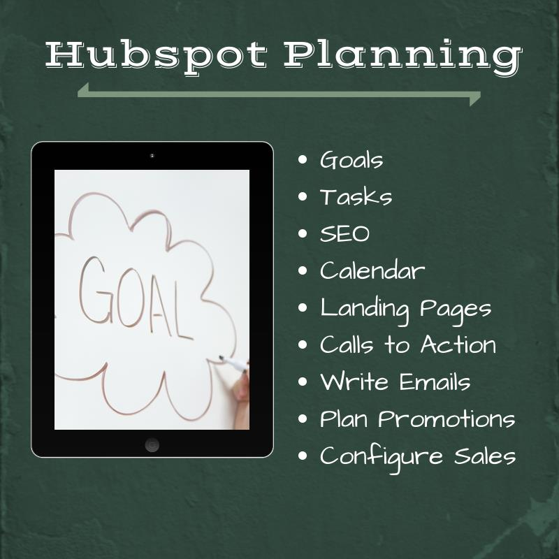 Hubspot Planning 1   Inbound Marketing Agency Los Angeles